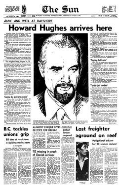 Howard Hughes Vancouver Sun