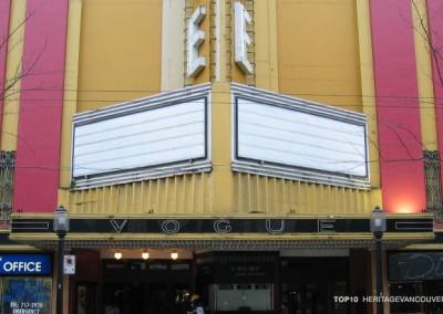 9. Vogue Theatre