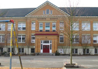 3. Vancouver Schools – J.W. Sexsmith Elementary School (1912 & 1913) [lost]