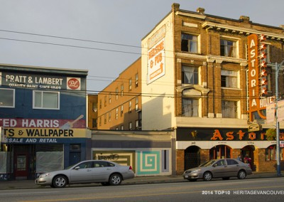 #9. East Hastings Street – Heatley to Campbell: A main street for Strathcona