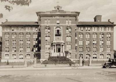 6. St. Paul's Hospital – Burrard Building