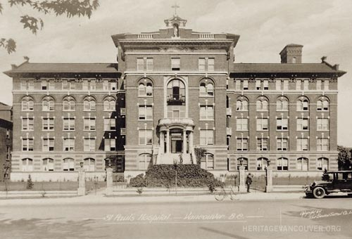 6. St. Paul's Hospital – Burrard Building