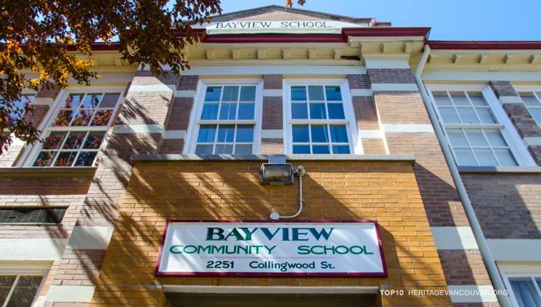 1. Bayview Community School (1913-14) – Heritage Schools