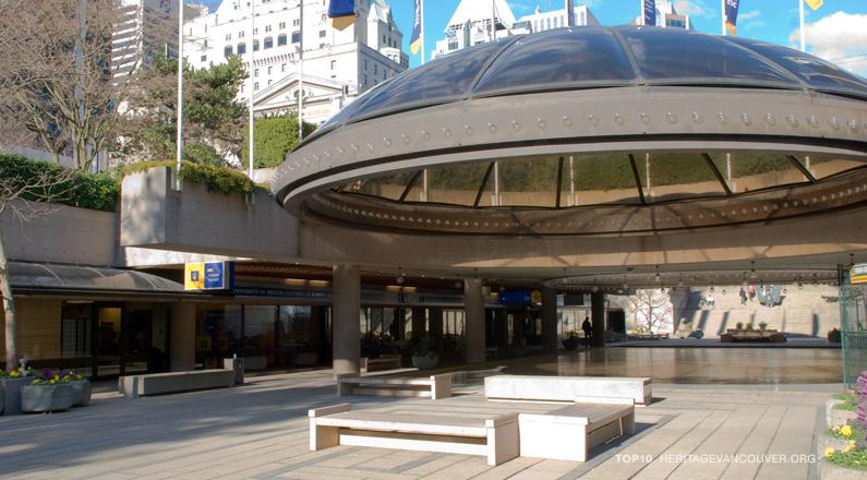 9. Robson Square Complex (1973-79)