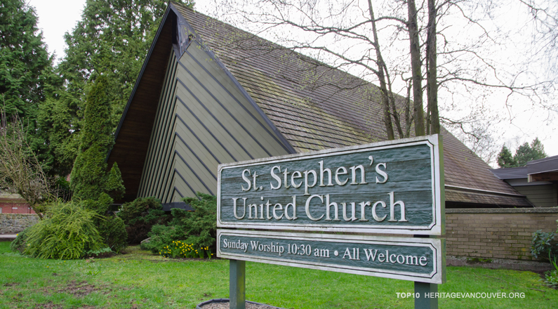 5. St. Stephen's United Church (1964)