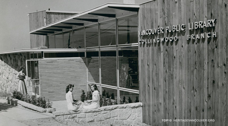 7. Collingwood Library (1951)