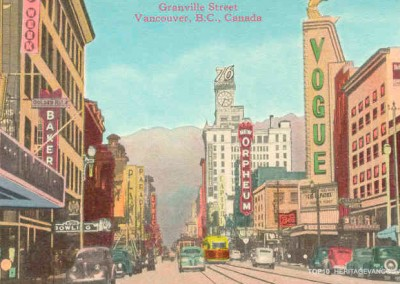 9. Granville Street, Downtown