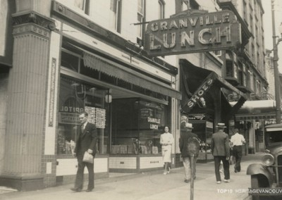 10. Downtown Granville Street (800-1200 Blocks): Low-scale Character Under Threat