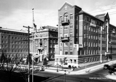 2. St. Paul's Hospital: Burrard Building (1912-13, 1930)