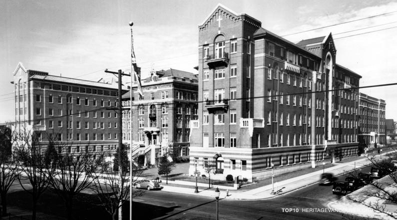 2. St. Paul's Hospital: Burrard Building (1912-13, 1930)