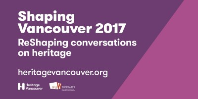 Shaping Vancouver 2017