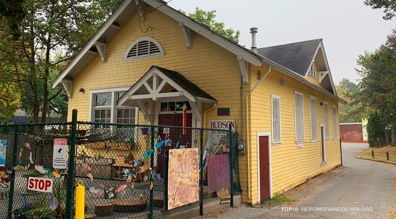 3. Henry Hudson wooden schoolhouse (1912)